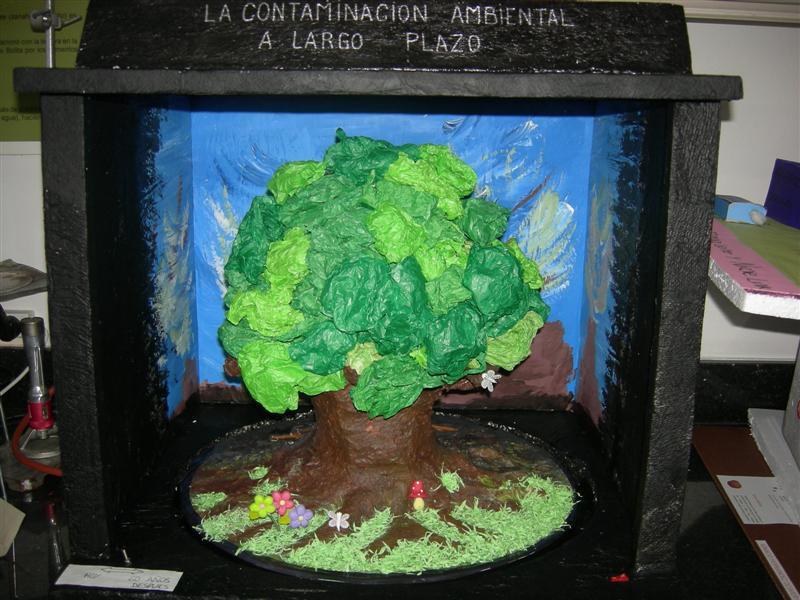 Galeria CAMBIO - Maquetas - Cambio - Conciencia Ambiental ORT - Campus