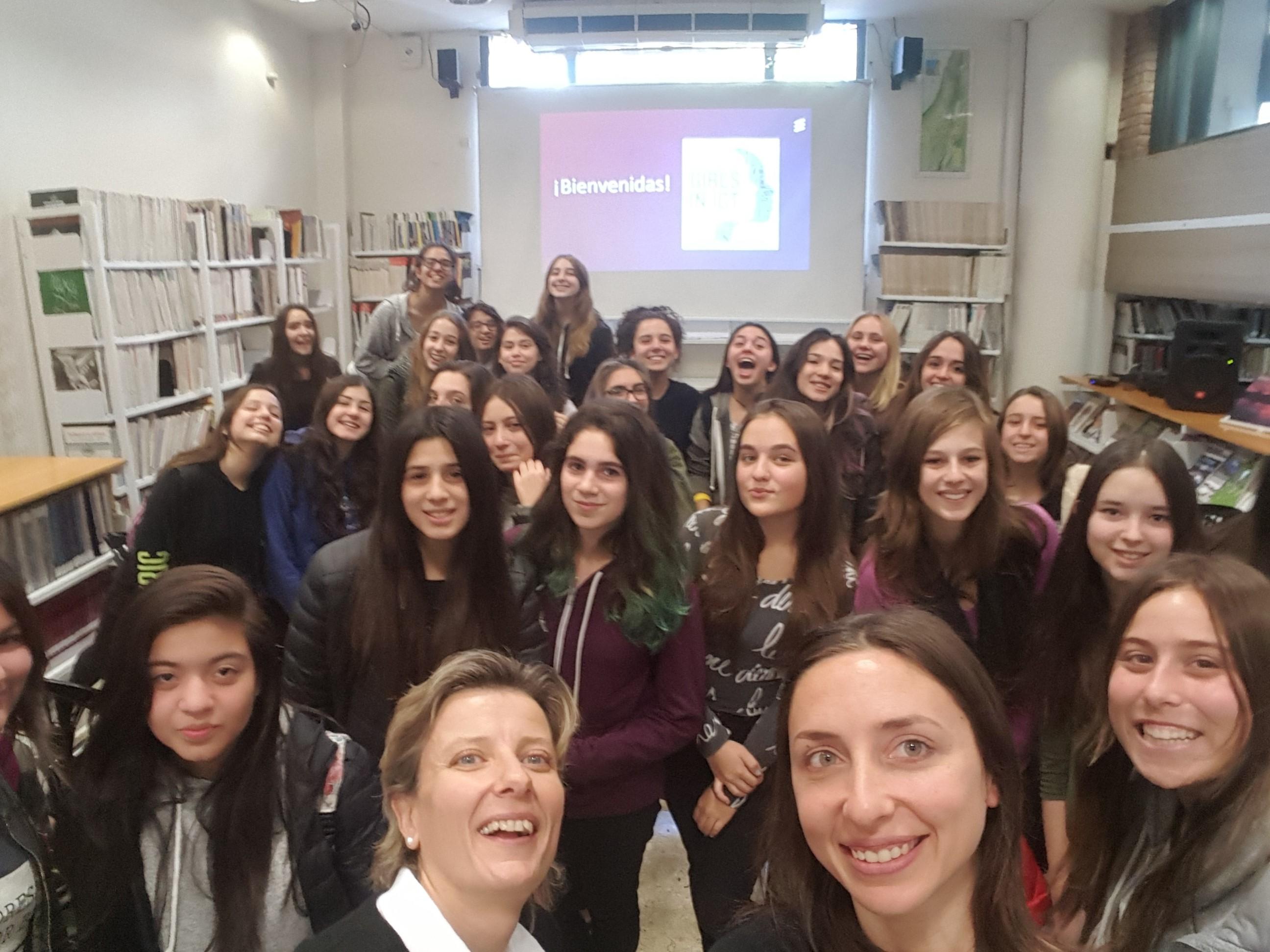 Girls in ICT Day en ORT