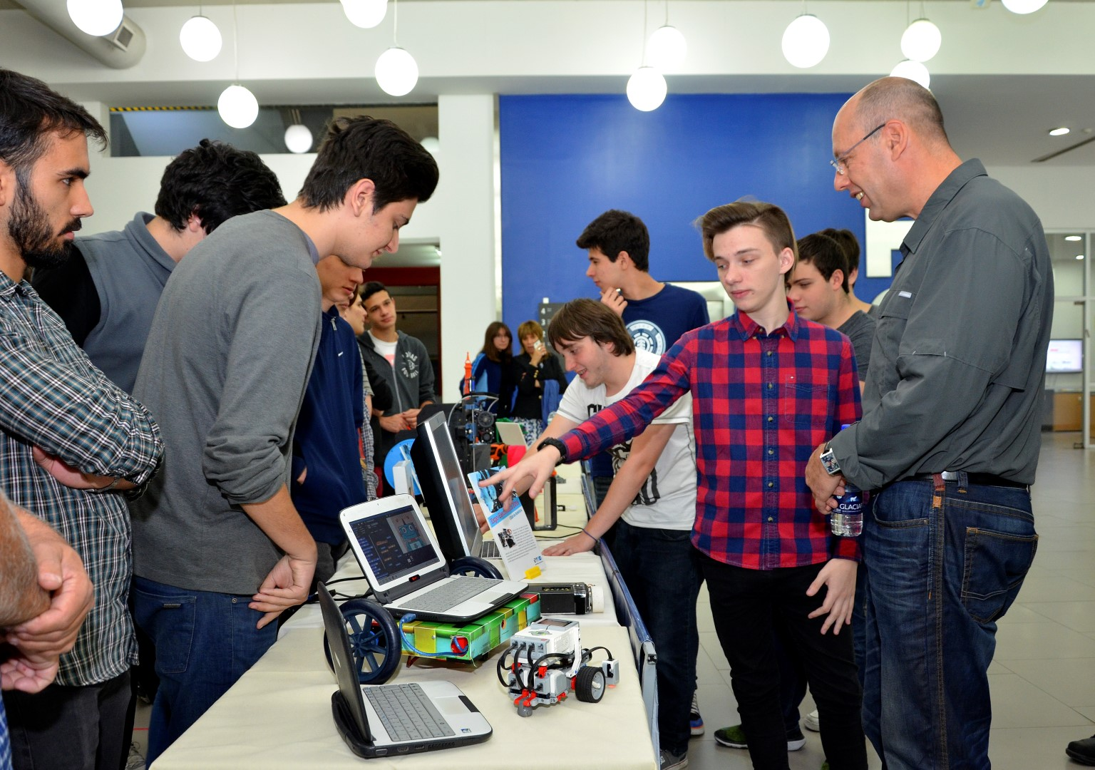 Visita del Dr. Shai Avidan, Profesor de Robótica de la Universidad de Tel Aviv