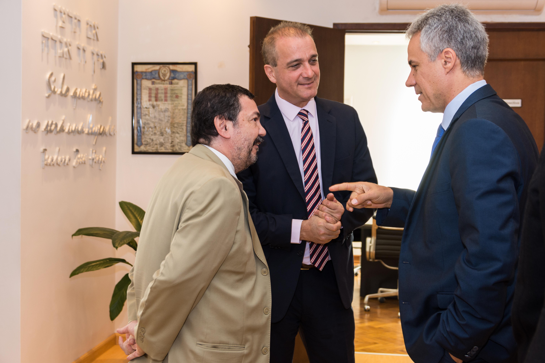 Recibimos la visita de Avi Ganon, nuevo CEO y Director General de ORT Mundial