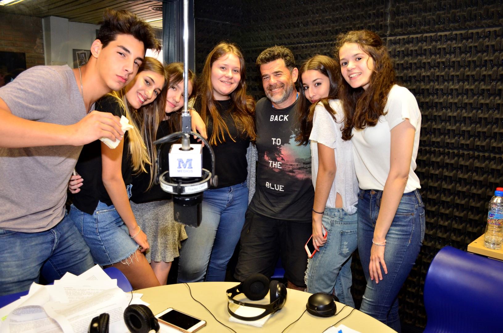Un maratón de radio con invitados de lujo