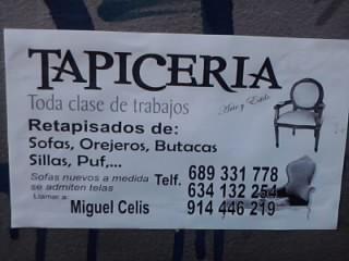 Trabajo de carteles sin tildes ort argentina campus - Tapiceros en mostoles ...