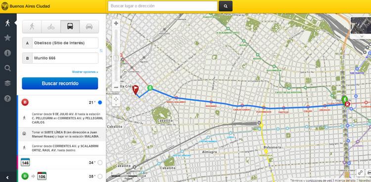Mapa interactivo de la ciudad ...