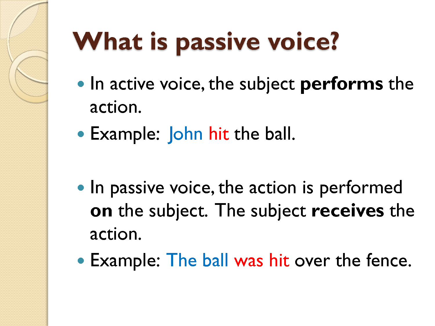 oral passive personality essay example Example domain this domain is established to be used for illustrative examples in documents you may use this domain in examples without prior coordination or asking.