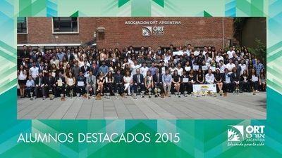 Alumnos destacados 2015