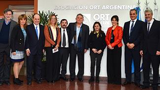 Visita de las autoridades del Ministerio de Educación de la Ciudad de Buenos Aires