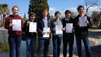 Alumnos distinguidos en las Olimpíadas Nacionales de Ciencias Junior