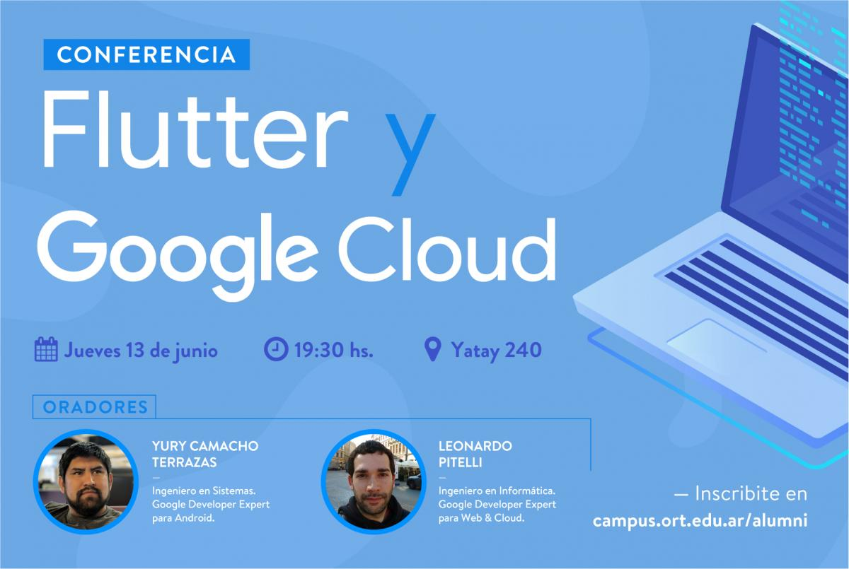 Conferencia Flutter y Cloud