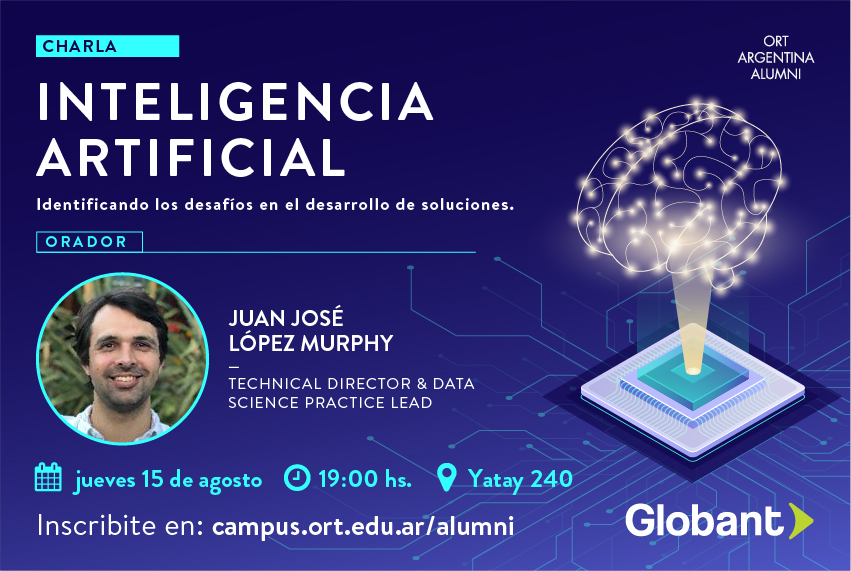 Charla Inteligencia Artificial Globant